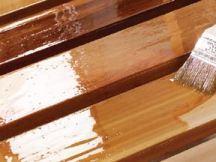 Покрытие деревянных изделий натуральными лаками