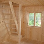Отделка интерьеров домов натуральной древесиной