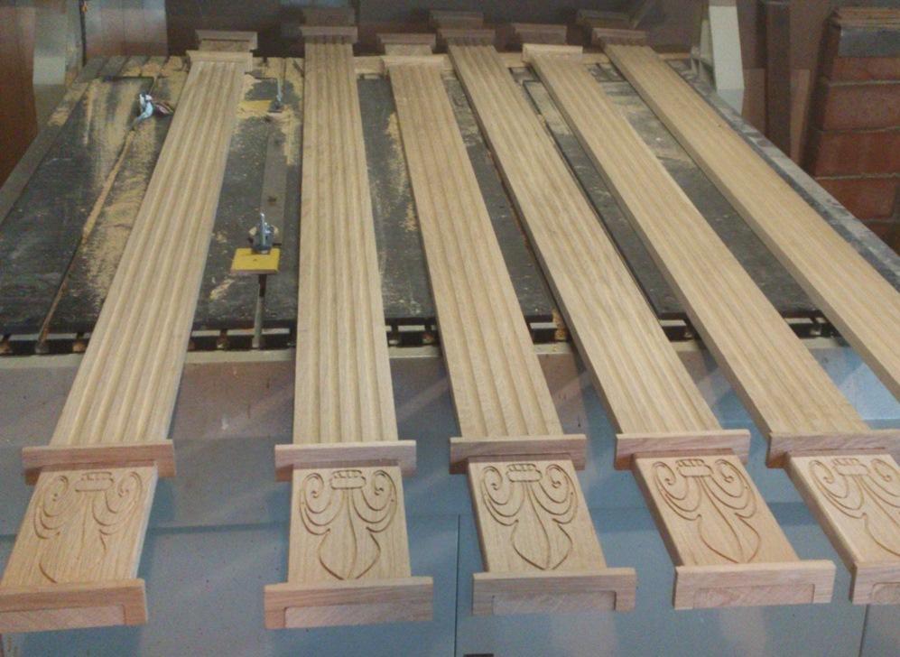 ронутое течение: деревянные