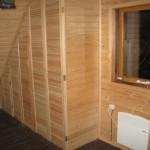 Встроенная мебель из дерева на заказ