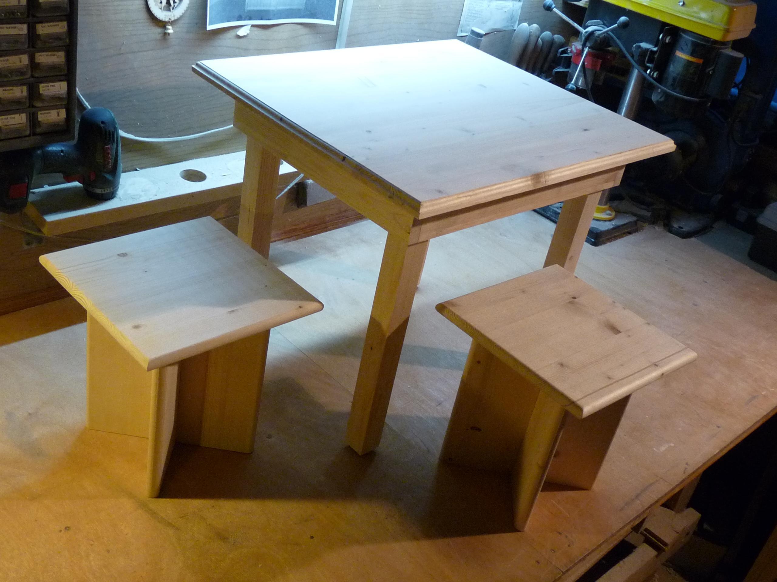 Фото мебели сделанной своими руками из дерева